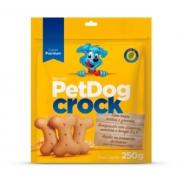 Biscoito Pet Dog Crock 250g