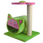 Brinquedo Arranhador para Gatos Luxo Chalesco