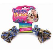 Brinquedo Dental Bone Mordedor Fio Dental Médio Para Cães.