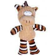 Brinquedo Homepet Pelucia Alce Listrado 15cm