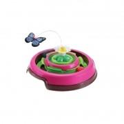 Brinquedo Truqys Pets Cat Spin Rosa