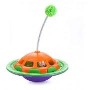 Brinquedo Truqys Pets NavCat Laranja com Verde
