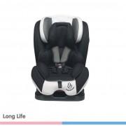 Cadeira para Auto Long Life Preto - Cinza 0 à 36kg - Galzerano