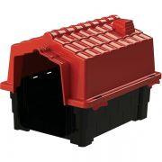 Casa Pet Injet Prime Colors Dog House Evolution Vermelha - N°4 - A: 69 cm L: 69 cm C: 81 cm