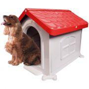 Casa Plastica Desmontável  Pet Injet N3 Vermelha