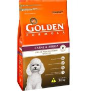 GOLDEN FÓRMULA ADULTO CARNE E ARROZ 15 KG MINI BITS
