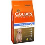 Ração Golden Fórmula Cães Filhotes Carne - 15 KG