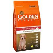 Ração Golden Fórmula Cães Filhotes Frango - 15 KG