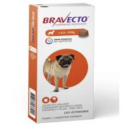 Kit 2  Anti Pulgas e Carrapatos Bravecto para Cães de 4,5 a 10kg - 250mg