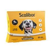 KIT 2Coleira Antiparasitária MSD Scalibor 65 cm para Cães