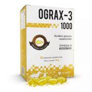 Ograx-1000 Suplemento Omega 3 Avert Com 30 Comprimidos
