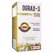 Ograx-1500 Suplemento Omega 3 Avert Com 30 Comprimidos