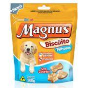 Petisco Biscoito Magnus Filhote 200g