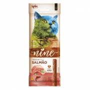 Petisco Stick Nine Cat Spin Pet 20g - Salmao