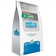 Ração Farmina Vet Life Natural Hypoallergenic Cães Adultos Mini 10kg