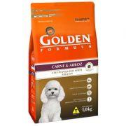Ração Golden Fórmula Cães Adultos Carne e Arroz Mini Bits - 1 KG