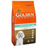 Ração Golden Fórmula Cães Adultos Frango e Arroz Mini Bits - 15KG