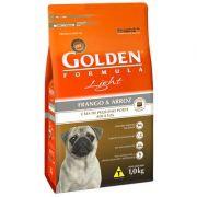 Ração Golden Fórmula Cães Adultos Light Frango e Arroz Mini bits - 1 KG