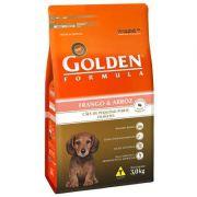 Ração Golden Fórmula Cães Filhotes Frango mini Bits - 3 KG