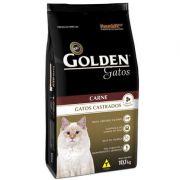 Ração Golden Gatos Castrados Carne - 10,1 KG