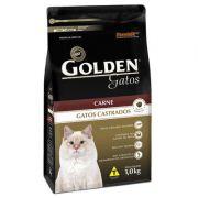 Ração Golden Gatos Castrados Carne - 1 KG