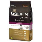Ração Golden Gatos Castrados Frango - 10,1 KG