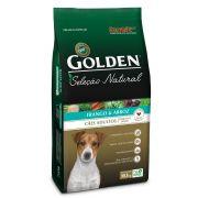 Ração Golden Seleção Natural Cães Adultos Mini Bits - 10,1 KG