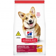 Ração Hills Cães Adultos Pedaços Pequenos 2,4kg