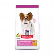 Ração Hills Cães Adultos Pedaços Pequenos e Miniaturas 2,4kg