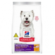 Ração Hills Cães Adultos Peles Sensivel Pedaços Pequenos 2,4kg