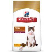 Racao Hills Feline Adulto  Hairball Control 7,5KG