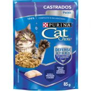 Ração Nestlé Purina Cat Chow Adultos Sachê Peixe ao Molho 85gr