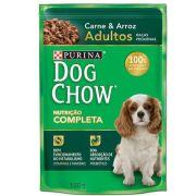 Ração Nestlé Purina Dog Chow Adultos Raças Pequenas Sachê Carne e Arroz 100gr
