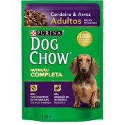 Ração Nestlé Purina Dog Chow Adultos Raças Pequenas Sachê Cordeiro e Arroz 100gr