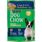 Ração Nestlé Purina Dog Chow Adultos Raças Pequenas Sachê Frango e Arroz 100g
