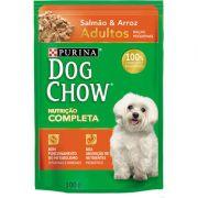 Ração Nestlé Purina Dog Chow Adultos Raças Pequenas Sachê Salmão e Arroz 100g