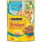 Ração Nestlé Purina Friskies Atum ao Molho para Gatos Adultos 85gr