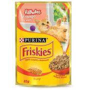Ração Nestlé Purina Friskies Sachê Frango ao Molho para Gatos Filhotes 85gr