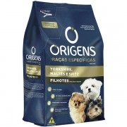 Ração Origens Cães Filhotes York-Maltes-Spitz 1kg