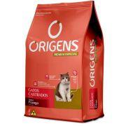 Racao Origens Gatos Castrados Frango 10.1kg