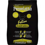 Ração Premiatta Feline para Gatos Castrados - 10,1 Kg