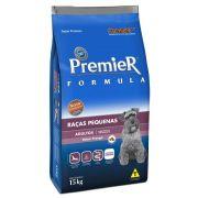 Ração Premier Cães Adultos Raças Pequenas Mini Bits - 15 KG
