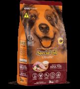 Ração Special Dog Ultralife Cães Adultos Raças Medias 3kg