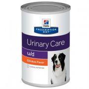 Ração Úmida Hills U/D Cuidado Urinário para Cães Lata - 370G