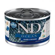 Ração Úmida N&D Ocean Cães Adultos Sabor Salmão 140g
