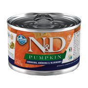 Ração Úmida N&D Pumpkin Cães Adultos Sabor Cordeiro 140g