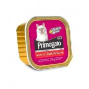 Ração Úmida Patê Primogato Carne 150G