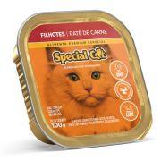 Ração Úmida Special Cat Patê Carne Gatos Filhote 100Gr