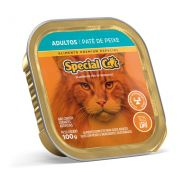 Ração Úmida Special Cat Patê Peixe Gatos Adultos 100Gr