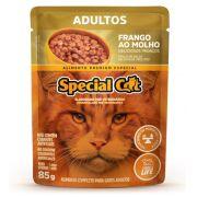 Ração Úmida Special Cat Sachê Frango Gatos Adultos 85Gr
